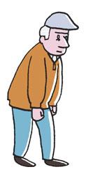 Alter Mann mit Schiebermütze
